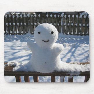 Snow Alien Mouse Pad