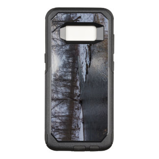 Snow Along James River OtterBox Commuter Samsung Galaxy S8 Case