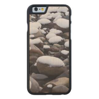 Snow And Rocks, Mt. Rainier National Park Carved Maple iPhone 6 Case