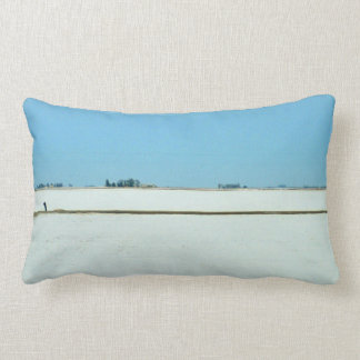 Snow and Sky Lumbar Pillow