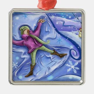 Snow Angel Christmas Ornament