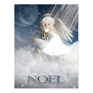 Snow Angel Post Card - NOEL