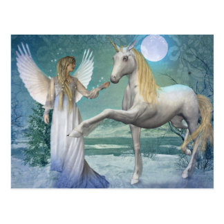 Snow Angel (Postcard) Postcard