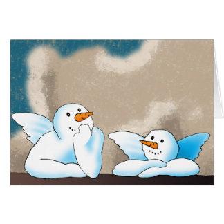 Snow Angels Card