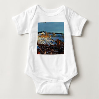 snow at bryce baby bodysuit