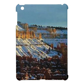 snow at bryce iPad mini cases