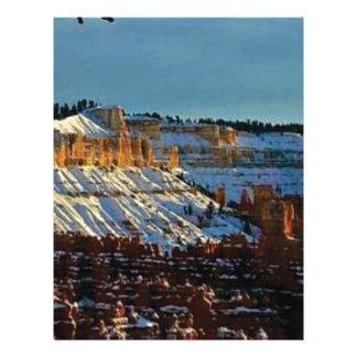 snow at bryce letterhead