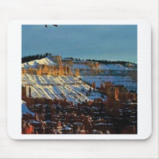 snow at bryce mouse pad