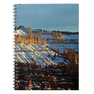 snow at bryce notebook