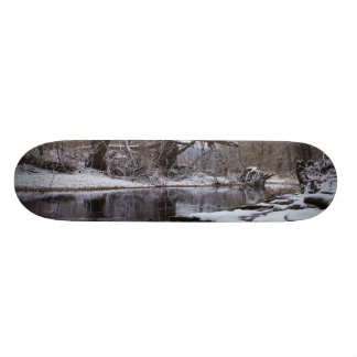 Snow At Finley Skate Boards
