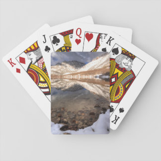 Snow at North Lake, California Poker Deck