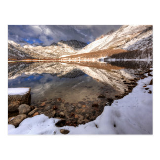 Snow at North Lake, California Postcard