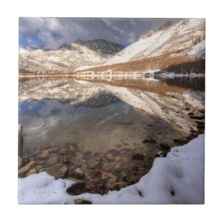 Snow at North Lake, California Tile