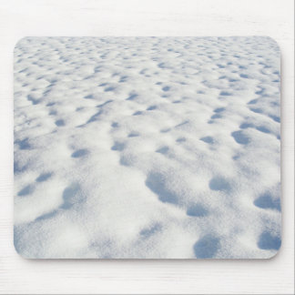 Snow Background - Mousepad