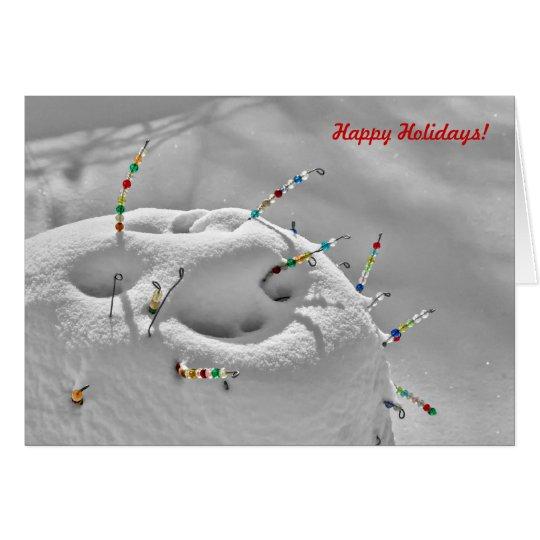 Snow Beads Card