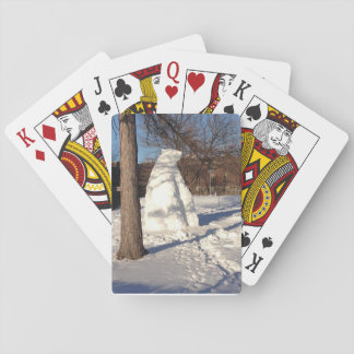 Snow Bear Playing Cards