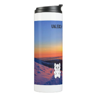 Snow Beast Reviews Sunset Tumbler