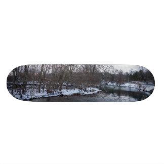 Snow Beauty James River Custom Skateboard