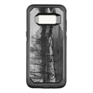 Snow Beauty James River Grayscale OtterBox Commuter Samsung Galaxy S8 Case