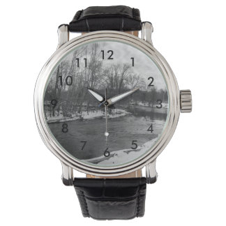 Snow Beauty James River Grayscale Watch