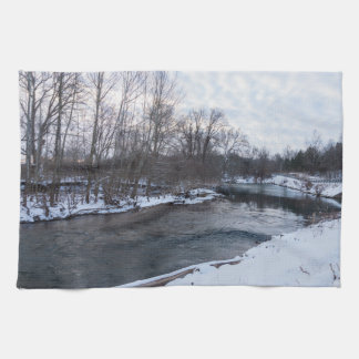 Snow Beauty James River Hand Towels