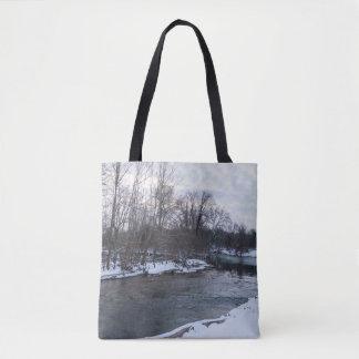 Snow Beauty James River Tote Bag
