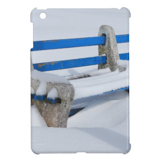 Snow Bench iPad Mini Cases