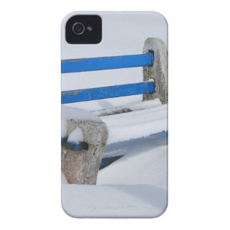 Snow Bench iPhone 4 Cover
