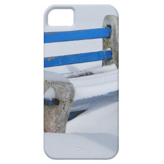 Snow Bench iPhone 5 Cover