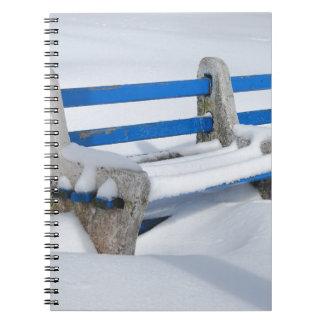 Snow Bench Notebook