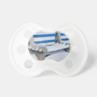 Snow Bench Pacifier