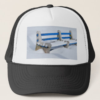 Snow Bench Trucker Hat