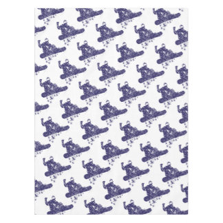 Snow-Boarder Tablecloth