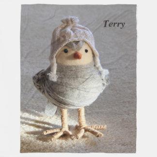 Snow Buddy Fleece Blanket