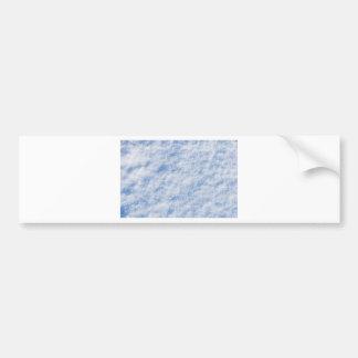 Snow Bumper Sticker