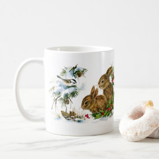 Snow Bunnies Coffee Mug