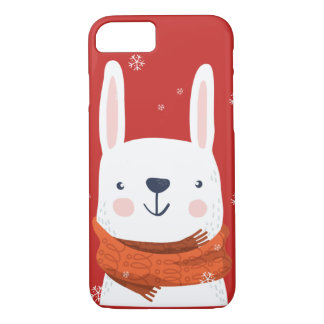 Snow Bunny Holidays iPhone 8/7 Case