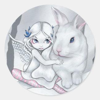 """""""Snow Bunny"""" Sticker"""