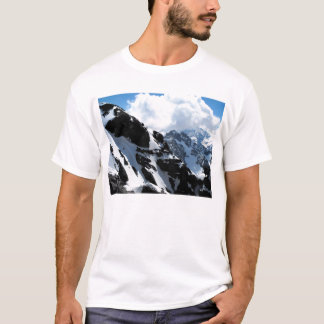 Snow capped mountains in the Swiss Alps T-Shirt
