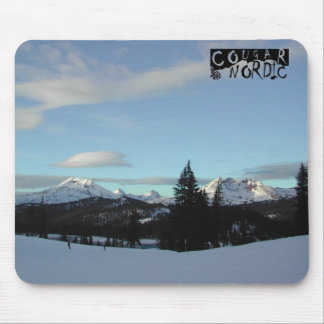 snow capped mousepad