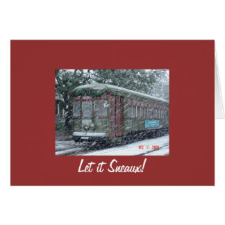 snow_car_of_desire, Let it Sneaux! Card