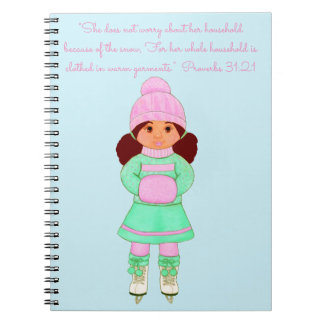 Snow-Clothed in Warm Garments~Scripture Notebook