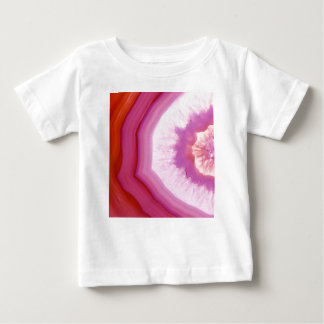 Snow Cone Agate Slice Baby T-Shirt