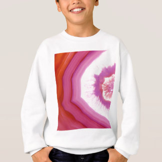 Snow Cone Agate Slice Sweatshirt