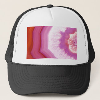 Snow Cone Agate Slice Trucker Hat
