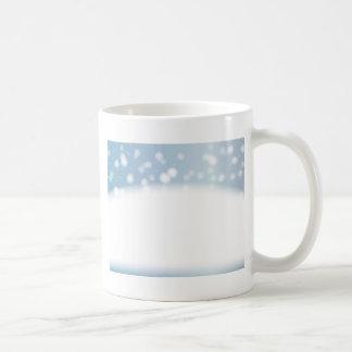 Snow Copy Space Coffee Mug