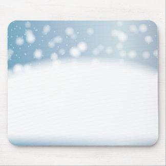 Snow Copy Space Mouse Pad