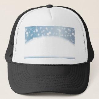 Snow Copy Space Trucker Hat