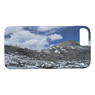 Snow Covered Donahue Pass - John Muir TraIl iPhone 8/7 Case