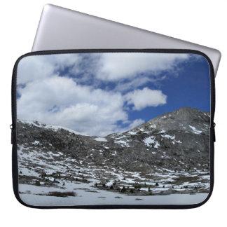 Snow Covered Donahue Pass - John Muir TraIl Laptop Sleeve